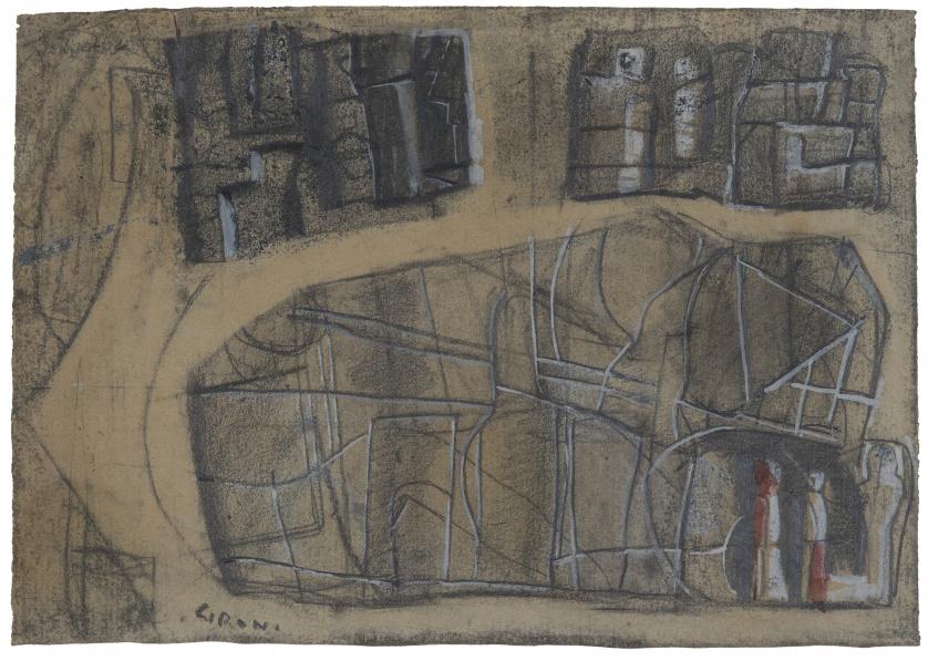 MARIO SIRONI (Sassari, 1885 - Milán, 1961), MARIO SIRONI (S