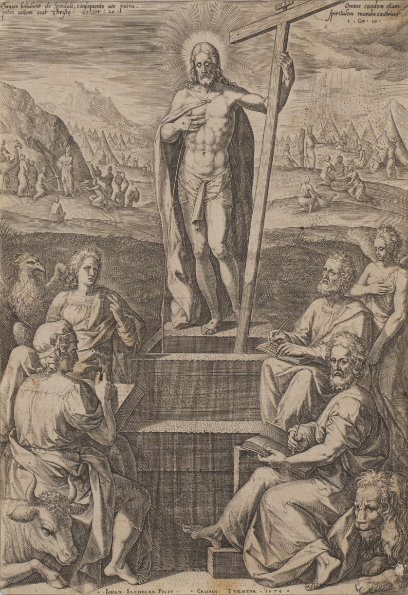 JOHANNES SADELER (1550-1600) Y CRISPIN DE PASSE (1564-1637)