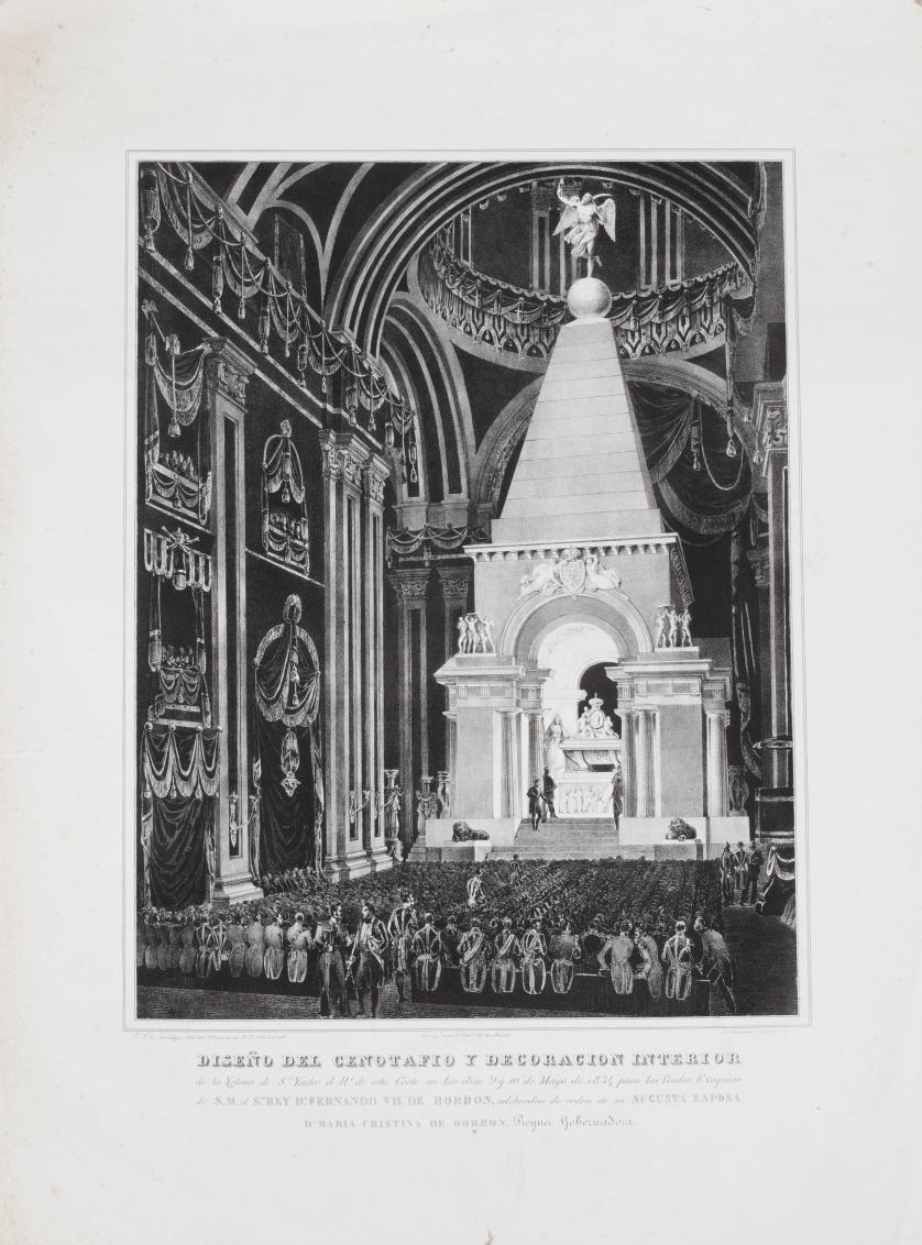 FRANCISCO XAVIER DE MARIATEGUI (inv) y F. BLANCHARD (lit.)
