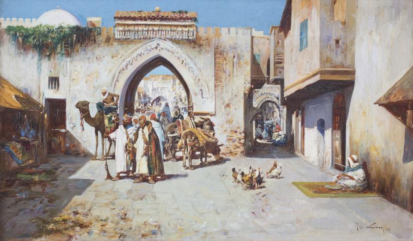JOSÉ NAVARRO LLORENS (Godella, Valencia, 1867-Valencia, 19