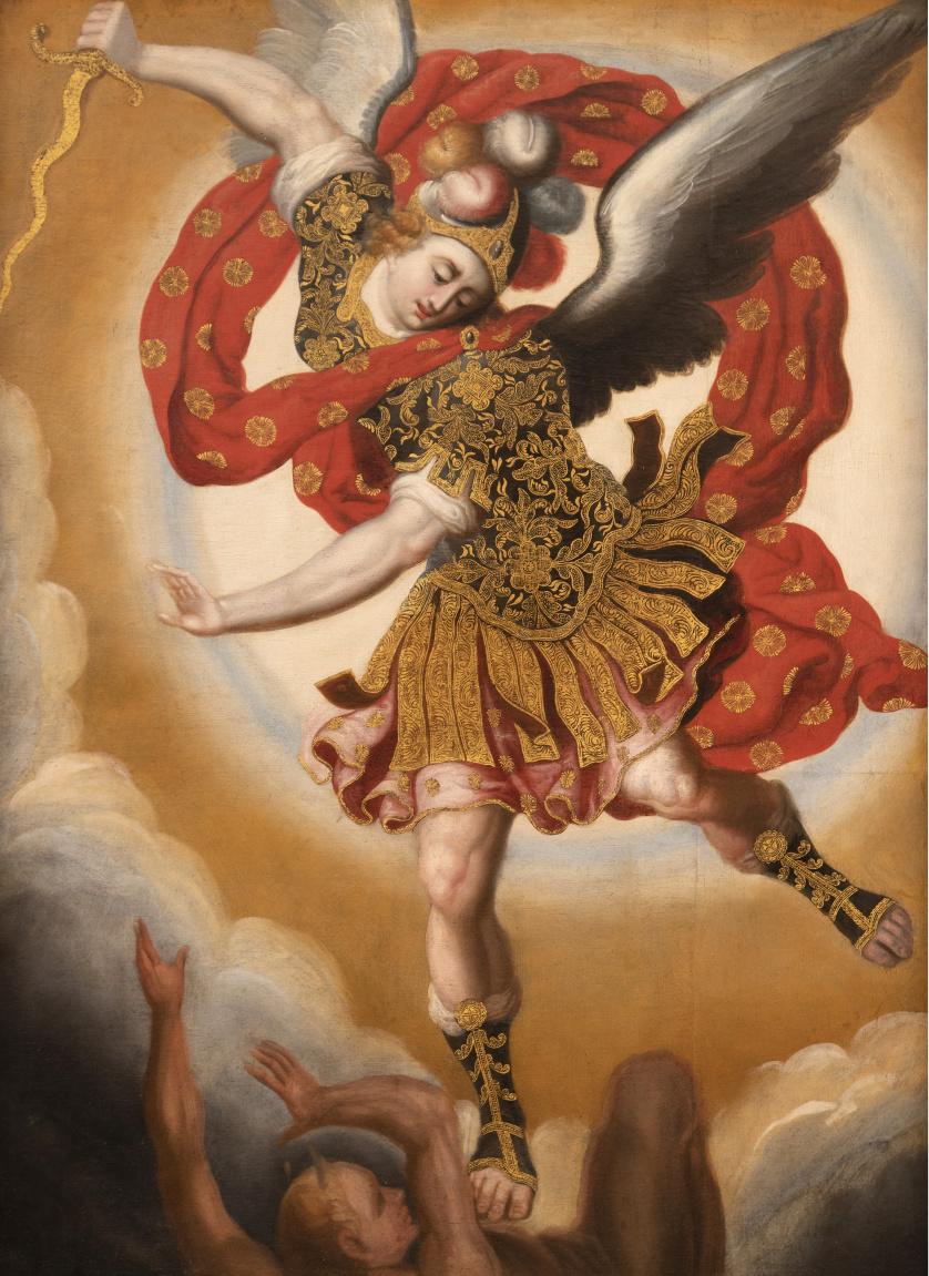 ATRIBUIDO A BASILIO DE SANTA CRUZ PUMACALLAO (Cuzco, 1635-1