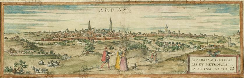 GEORG BRAUM (1572-1617) & FRANZ HOGENBERG (1542-1600) , GEO
