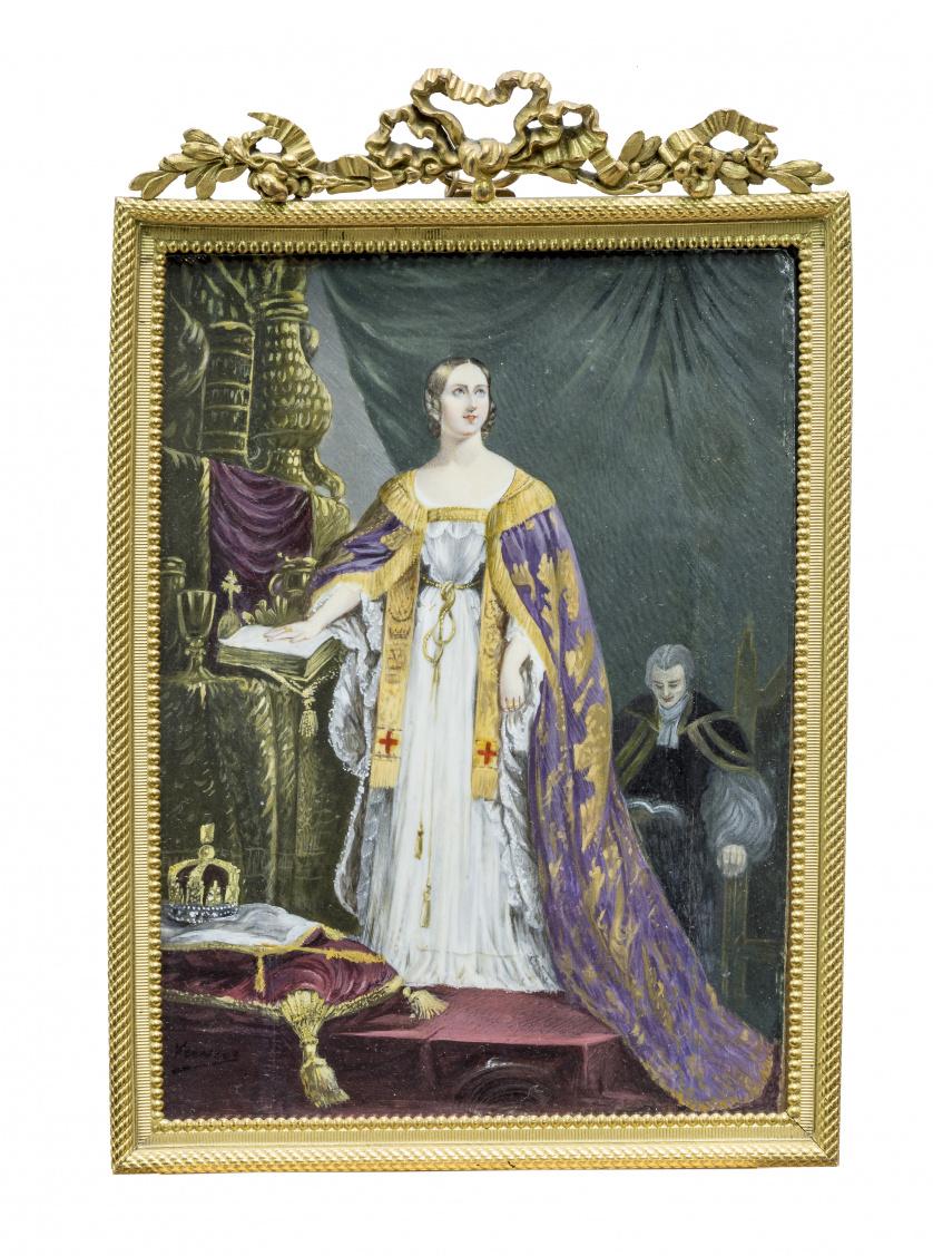 ESCUELA FRANCESA, SIGLO XIXRetrato de María Clotilde de Fr