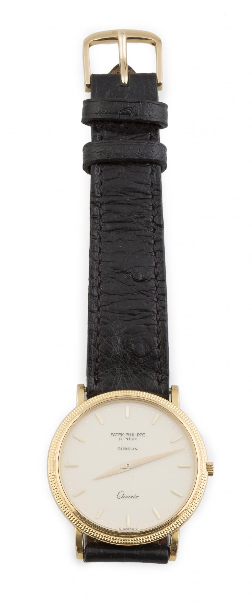 Reloj de pulsera PATEK PHILIPPE Calatrava en oro de 18K
